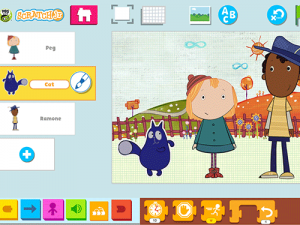PBS version of ScratchJr includes PBS characters